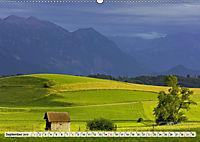 Das Blaue Land - Himmel, Seen und Berge im bayerischen Voralpenland (Wandkalender 2019 DIN A2 quer) - Produktdetailbild 9