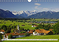 Das Blaue Land - Himmel, Seen und Berge im bayerischen Voralpenland (Wandkalender 2019 DIN A4 quer) - Produktdetailbild 2