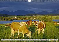 Das Blaue Land - Himmel, Seen und Berge im bayerischen Voralpenland (Wandkalender 2019 DIN A4 quer) - Produktdetailbild 4