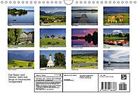 Das Blaue Land - Himmel, Seen und Berge im bayerischen Voralpenland (Wandkalender 2019 DIN A4 quer) - Produktdetailbild 13