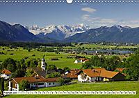 Das Blaue Land - Himmel, Seen und Berge im bayerischen Voralpenland (Wandkalender 2019 DIN A3 quer) - Produktdetailbild 2