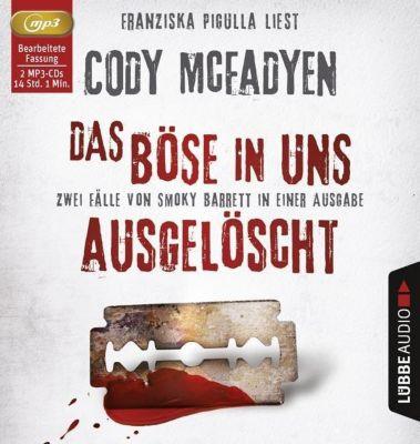 Das Böse in uns / Ausgelöscht, 2 MP3-CDs, Cody McFadyen