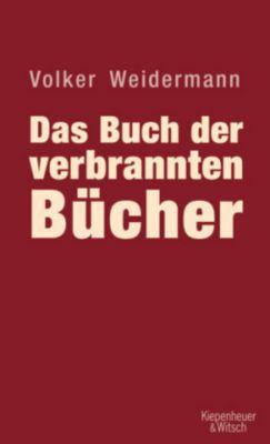 Das Buch der verbrannten Bücher, Volker Weidermann