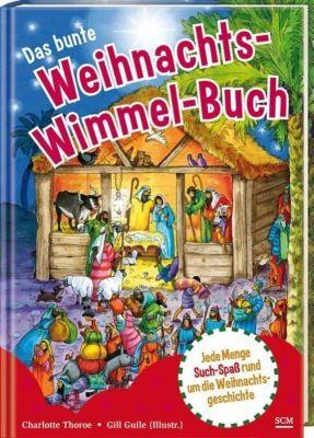 Das bunte Weihnachts-Wimmel-Buch, Charlotte Thoroe