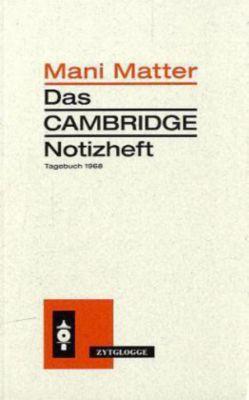 Das Cambridge Notizheft - Mani Matter pdf epub