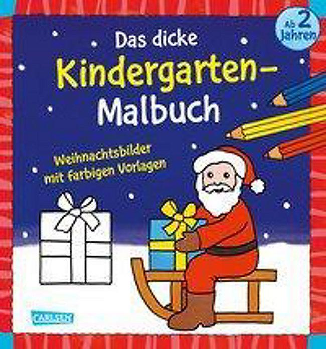 Google Weihnachtsbilder.Das Dicke Kindergarten Malbuch Weihnachtsbilder Buch Weltbild Ch