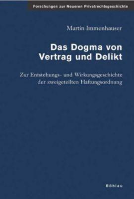 Das Dogma von Vertrag und Delikt, Martin Immenhauser