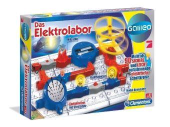 Das Elektrolabor (Experimentierkasten)