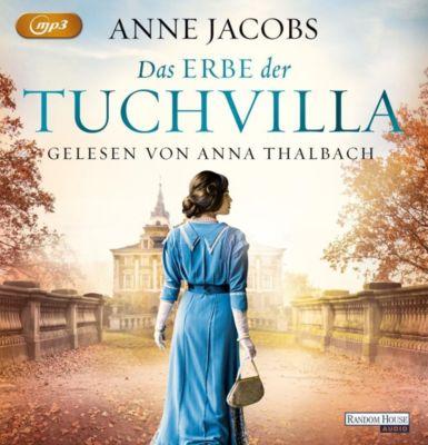 Das Erbe der Tuchvilla, 1 MP3-CD, Anne Jacobs