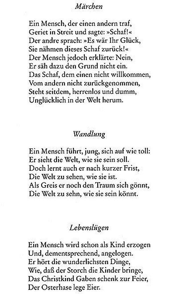 Roth Gedichte Eugen Roth Gedichte 2019 09 22
