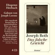 Das falsche Gewicht, 4 Audio-CDs, Joseph Roth