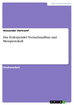 Das Federpendel. Versuchsaufbau und Messprotokoll, Alexander Hartramf