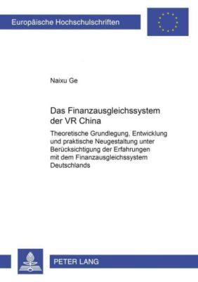Das Finanzausgleichssystem der VR China, Naixu Ge