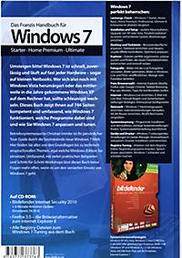 Das Franzis Handbuch für Windows 7, inklusive CD-ROM - Produktdetailbild 2