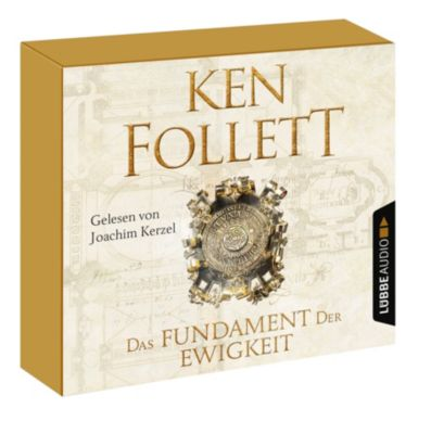 Das Fundament der Ewigkeit, 12 Audio-CDs, Ken Follett