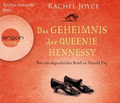 Das Geheimnis der Queenie Hennessy, 6 Audio-CDs, Rachel Joyce
