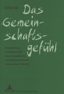 Das Gemeinschaftsgefühl, Günther Stolz
