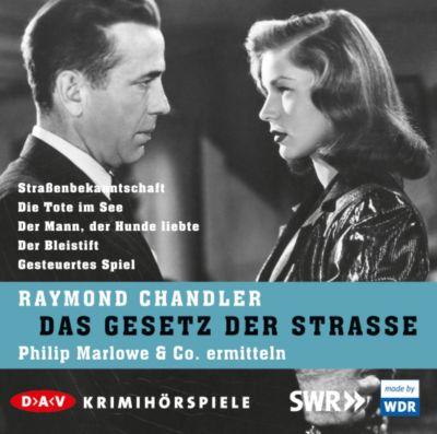 Das Gesetz der Straße, 5 Audio-CDs, Raymond Chandler