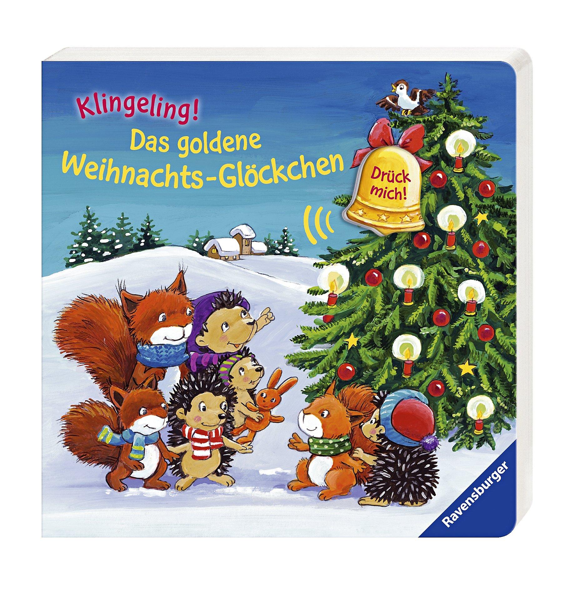 Das goldene Weihnachts-Glöckchen, m. Soundeffekten Buch portofrei