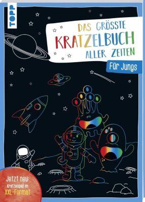 Das größte Kratzelbuch aller Zeiten für Jungs, frechverlag
