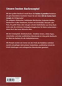 Das große Backbuch - Produktdetailbild 2