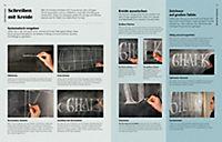 Das große Buch vom Handlettering mit Stift & Kreide - Produktdetailbild 2