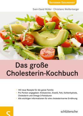 Das große Cholesterin-Kochbuch, Sven-David Müller, Christiane Weißenberger