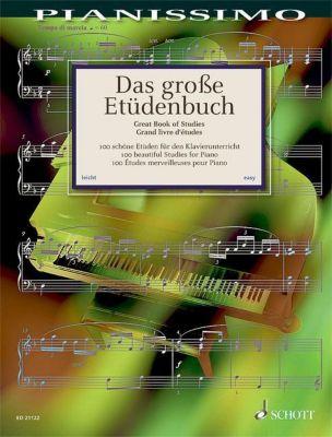 Das große Etüdenbuch, Klavier