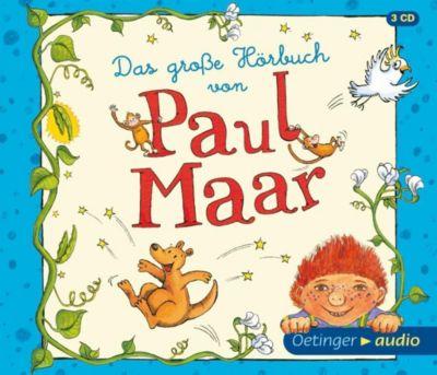 Das grosse Hörbuch von Paul Maar, 3 Audio-CDs, Paul Maar