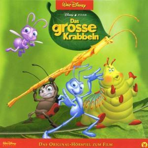 Das große Krabbeln, 1 Audio-CD, Walt Disney