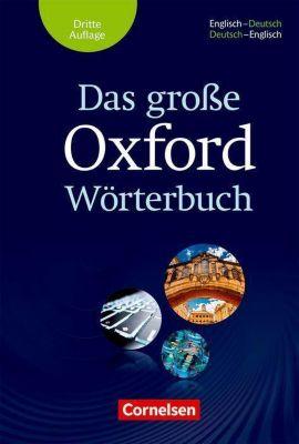 Das große Oxford Wörterbuch - Englisch-Deutsch/Deutsch-Englisch
