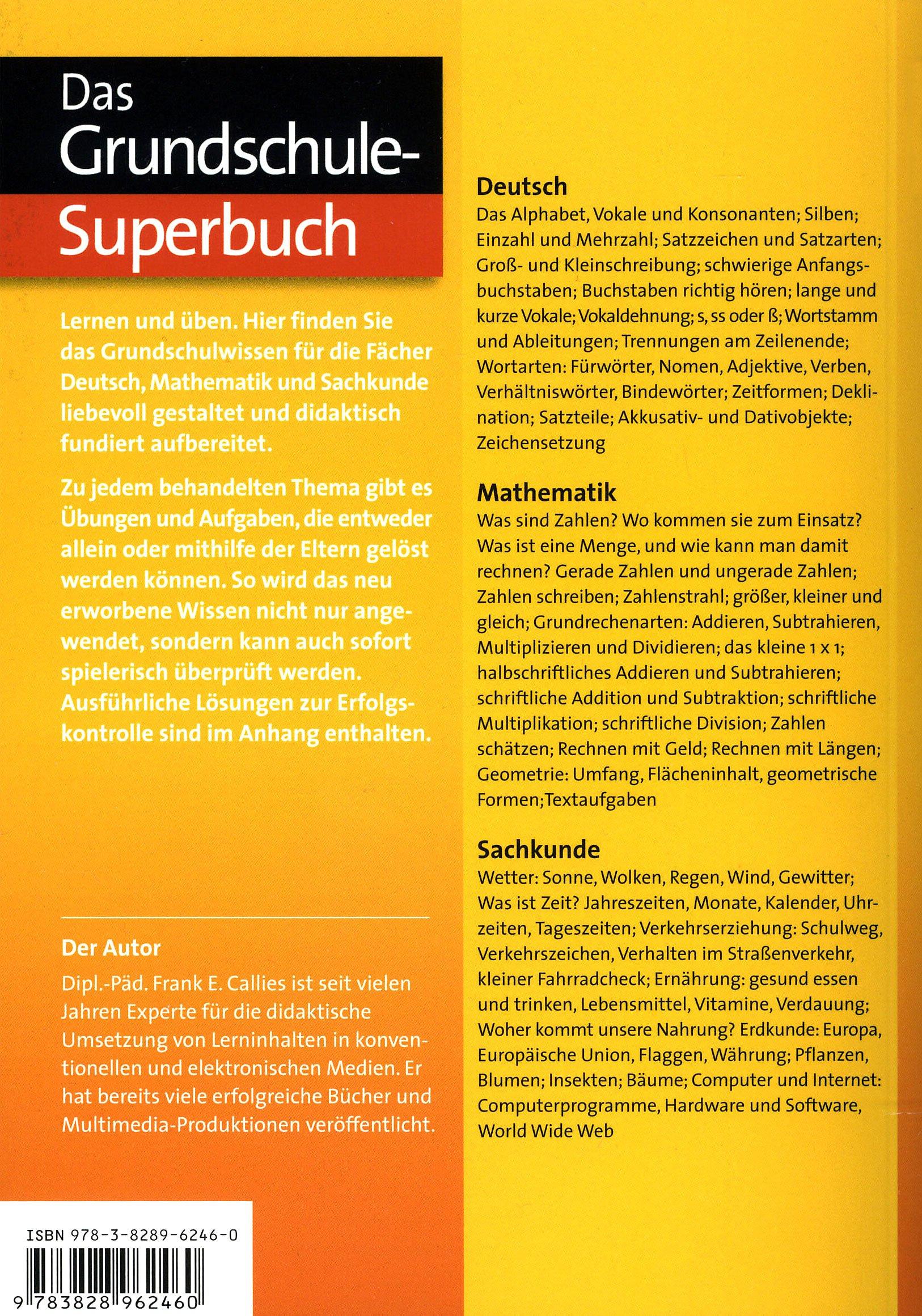 Das Grundschul Superbuch 1 4 Klasse Weltbild Ausgabe