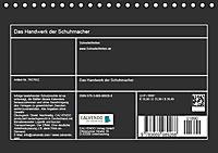 Das Handwerk der Schuhmacher (Tischkalender 2019 DIN A5 quer) - Produktdetailbild 11