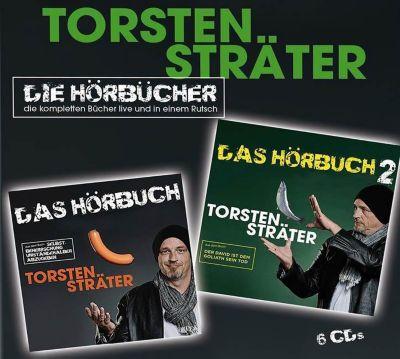 Das Hörbuch 1 & 2, 6 Audio-CDs, Torsten Sträter