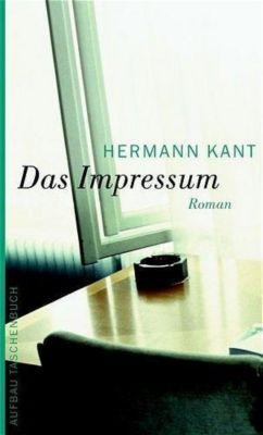 Das Impressum, Hermann Kant