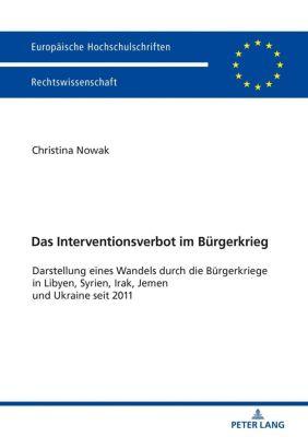 Das Interventionsverbot im Bürgerkrieg, Christina Nowak
