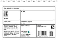 Das ist typisch Thüringen (Tischkalender 2019 DIN A5 quer) - Produktdetailbild 13