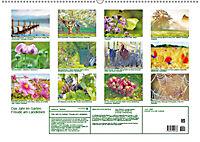 Das Jahr im Garten: Freude am Landleben (Wandkalender 2019 DIN A2 quer) - Produktdetailbild 13