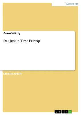 Das Just-in-Time-Prinzip, Anne Wittig