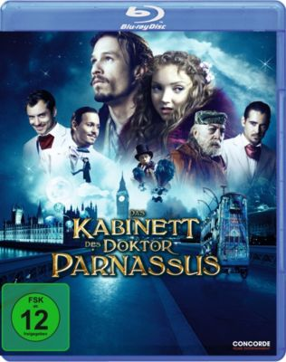 Das Kabinett des Dr. Parnassus, Heath Ledger, Johnny Depp