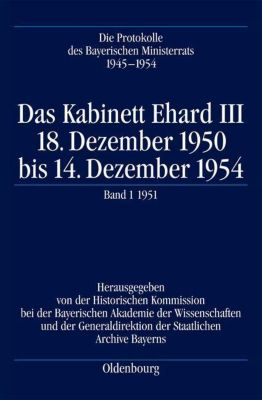 Das Kabinett Ehard III