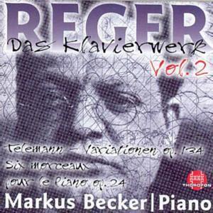 Das Klavierwerk Vol. 2, Markus Becker
