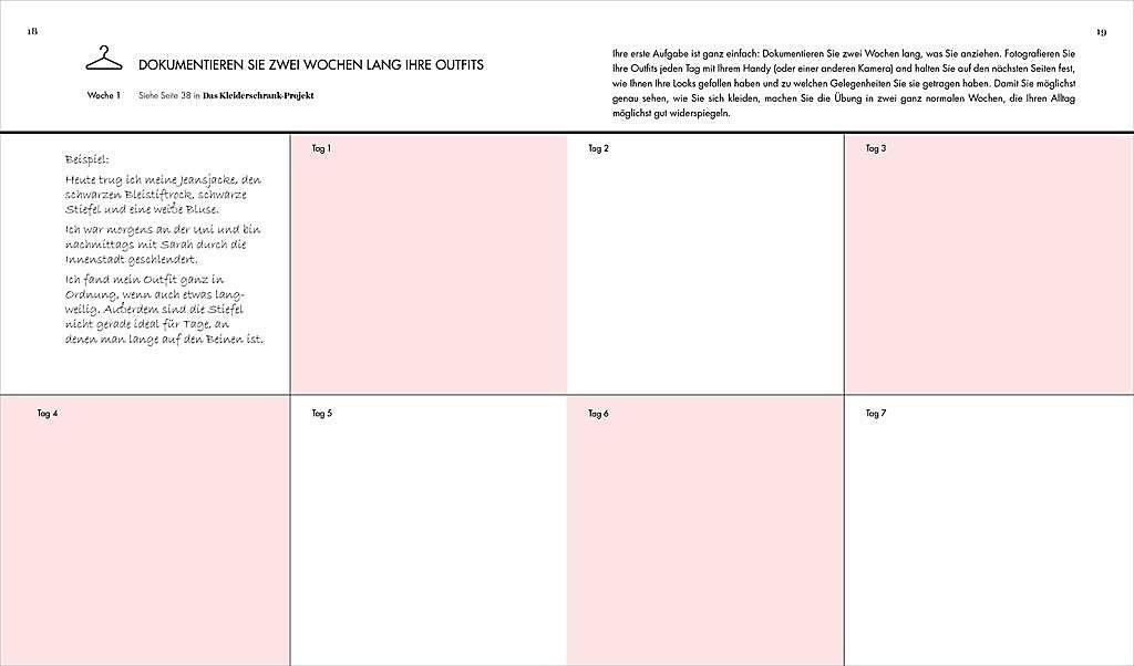 Das Kleiderschrank Projekt Praxisbuch Buch Portofrei Weltbild Ch
