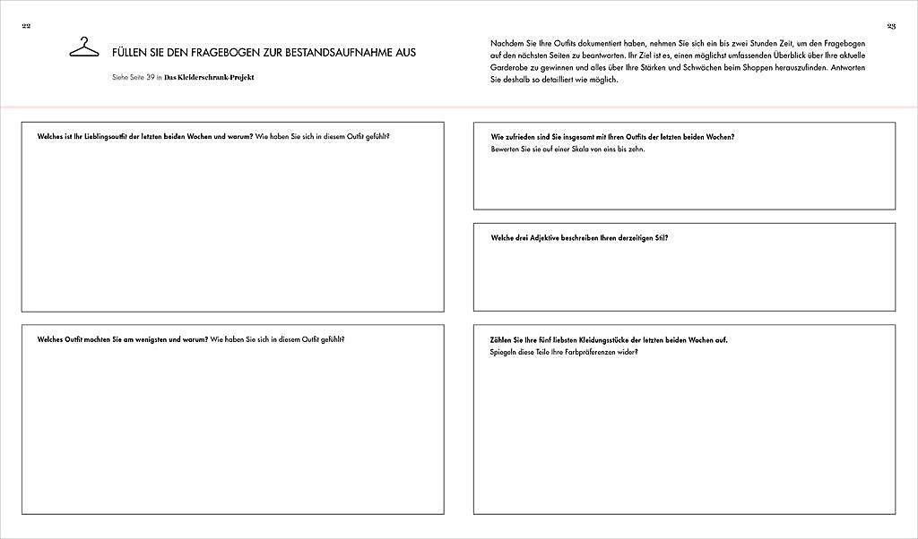 Das Kleiderschrank Projekt Praxisbuch Buch Portofrei Weltbild De