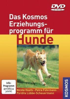 Das Kosmos Erziehungsprogramm für Hunde, 1 DVD, Nicole Hoefs, Petra Führmann, Perdita Lübbe-Scheuermann
