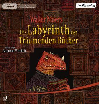 Das Labyrinth der Träumenden Bücher, 2 MP3-CDs, Walter Moers