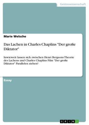 Das Lachen in Charles Chaplins Der grosse Diktator, Marie Welsche