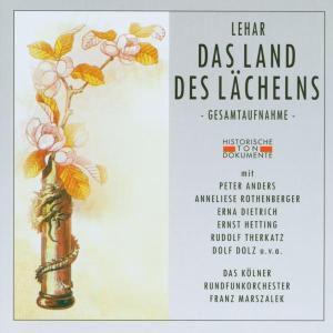 Das Land Des Lächelns, Kölner Rundfunkchor & Orcheste