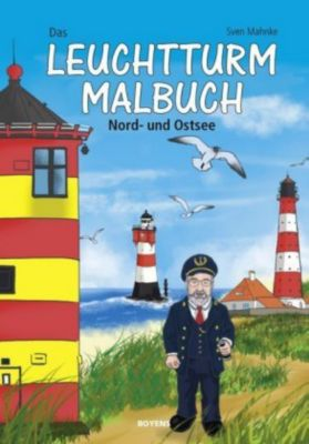 Das Leuchtturm-Malbuch - Sven Mahnke |