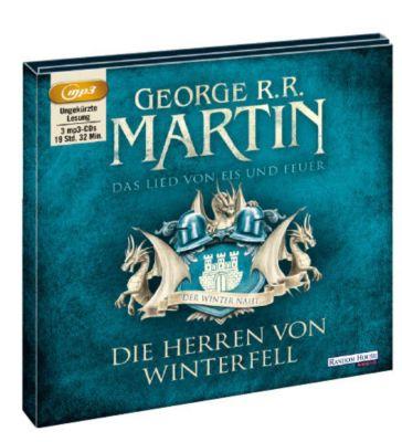 Das Lied von Eis und Feuer Band 1: Die Herren von Winterfell (3 MP3-CDs), George R. R. Martin